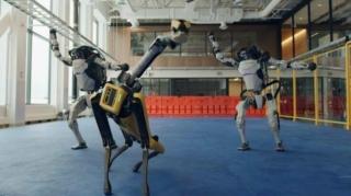 Boston Dynamics robots said a dancing goodbye to 2020