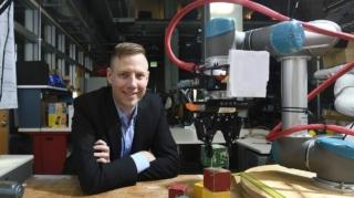"Positive reinforcement for ""teaching"" robots"