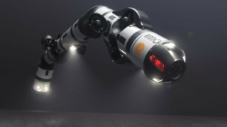 Robot in snake's shape undertakes the fixing of pipelines on the seabed