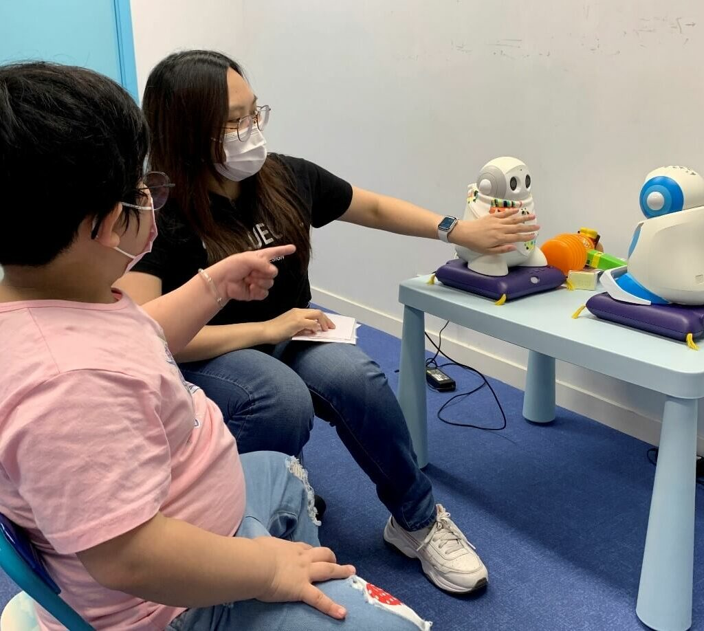 Robots help children with autism improve their social skills